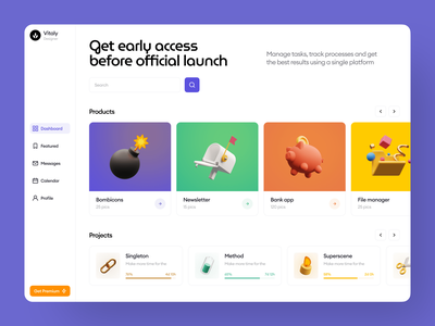 Superscene 3D Objects 💣 superscene contrast objects icons 3d typography ux colorful design ui illustrations illustration website craftwork web