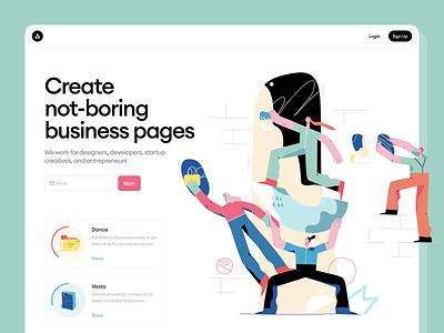 Brainstorm illustrations 🚀 product teammates teamwork team business brainstorm colorful illustration ui design illustrations website landing vector craftwork web