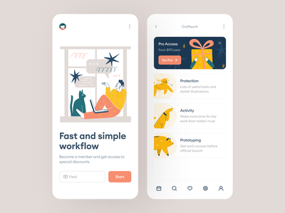 New Humpy Illustrations 🎁 lifestyle business characters stylish hand drawn release new humpy product colorful app ui design illustrations application vector craftwork