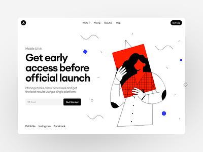 OSLO Illustrations ❤️ graphics oslo app illustrations design ui application website landing web vector craftwork