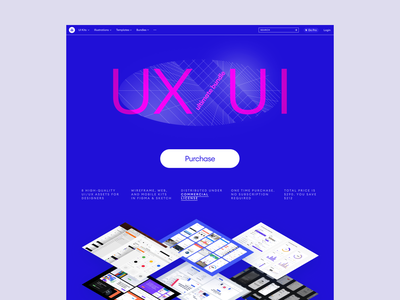 UX/UI Bundle 🔥 bunch product discounts sale collection bundle uxui uiux app illustrations design ui application website landing vector web craftwork