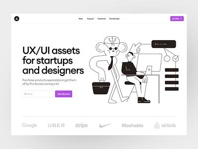 Work'n'Chill illustrations 🤓 task chill work app illustrations design ui application website landing vector web craftwork