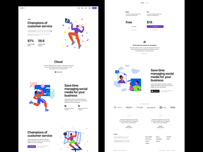 Blink illustrations 💥 uxui uikit wireframe confetti discounts characters product sale blink colorful app illustrations design ui application website landing vector web craftwork