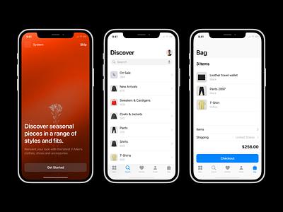 Design Cell 🖤 design system mockup ios app design uxui design cell branding app design ui application vector craftwork
