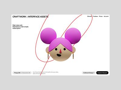Superscene 3D Constructor 😍 constructor superscene branding 3d illustration design ui application website web craftwork