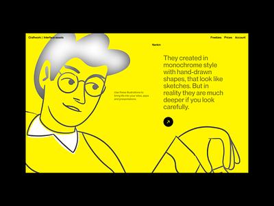 Nankin illustrations ⭐️ product nankin branding illustration design ui application website landing vector web craftwork