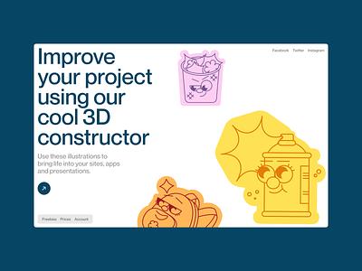 Smart Stickers ✌️ and UX/UI bundle update 💥 product illustrations smart stickers stickers illustration design ui application website landing vector web craftwork