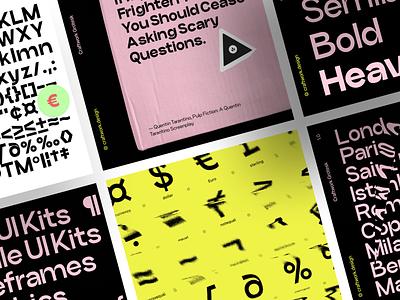 Craftwork Grotesk 🔥 grotesk typeface font design ui application website landing vector web craftwork