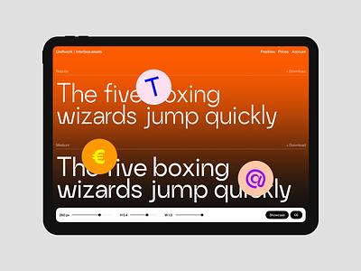 Craftwork Grotesk 💥 typography typeface font grotesk ui design application website landing vector web craftwork