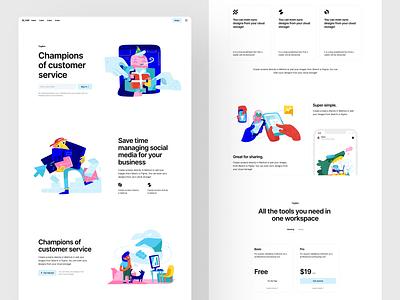 New Cranks illustrations 💥 characters scene release new animation ui application website landing vector web craftwork