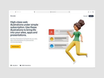 Humanity illustrations 💛 checkout buttons tasks characters volumetric pack product humanity graphics 3d illustrations illustration design ui application website landing web craftwork