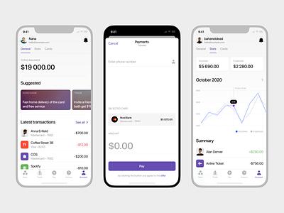 Nord Finance App iOS Kit 📱 ios mobile finance app design ui application vector craftwork