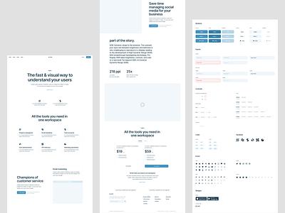 Blank Wireframe kit 🌿 prototyping product wireframe design ui application website landing vector web craftwork