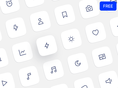 New free Edge icons 🎁 release new download freebie free outline icons graphics design ui application website landing vector web craftwork