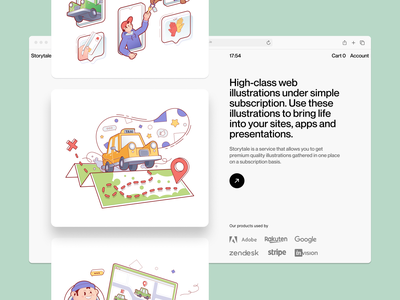 Delivery Man illustrations 🚖 isometric services delivery illustration design ui application website landing vector web craftwork