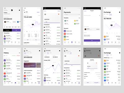 Nord Finance App iOS UI Kit 📱 mockup product bank ios finance screen app nord design ui application vector craftwork