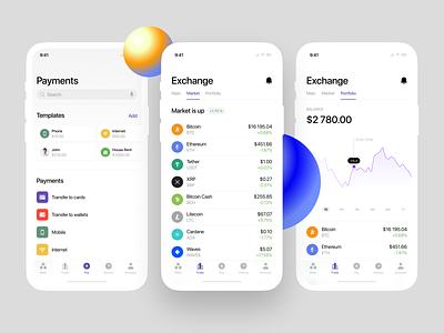 Nord Finance App UI Kit 📱 layout app design app banking bank finance nord vector illustration ui design application website landing craftwork