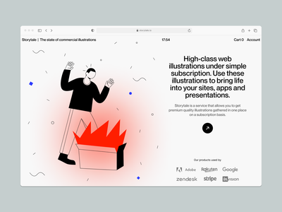 OSLO illustrations ❤️ product accent outine oslo illustration design ui application website landing vector web craftwork