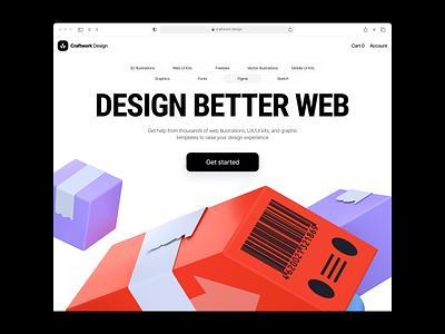 Boom illustrations 💣 free discount pack product boom 3d illustration design ui application website landing web craftwork