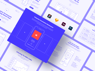Method Kit is compatible with your favorite app style grid google fonts vector clean craftwork project prototyping bootstrap blocks figma prototype freebie ux website web web design ux kit wireframe