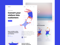 Illustrations + Web = 😍