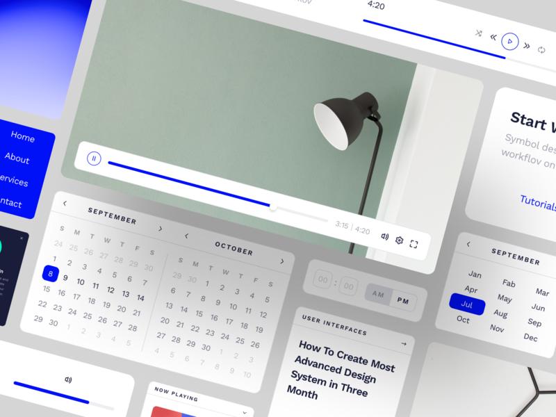 Design Complex Websites Faster icons mockups vector responsive fonts elements media craftwork ux interface adaptive symbols sketch library components landing web ui kit ui design system