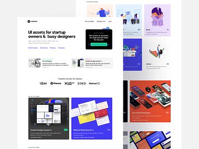Introducing Craftwork 3 web design design assets resources browser iphone mockups premium illustrator figma sketch design system illustrations templates ux kit ux ui kit ui