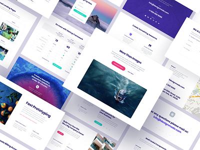Startup 3 generator ui ux uiux dailyui landingpage landing webdesign web design startup 3 startup
