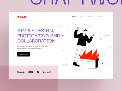 OSLO Illustrations [WIP] error 404 404 web page app walkthrough application website site background vector eps svg landing web story ai flat craftwork illustrator illustration