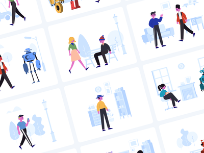 Stubborn Generator on ProductHunt craftwork nested symbols components robot boy girl character generator constructor pic image vector illustrator sketch figma illustrations illustration freebie free