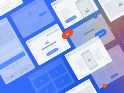 Free flowcharts constructor for Figma & Sketch