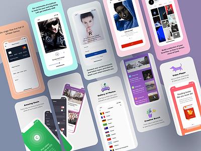 Meet iOS Jetpack 2 template design adobe photoshop sketch app design ui mobile apple application appstore app screenshot template