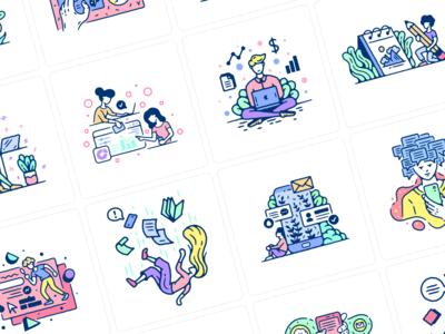Meet Thursday Illustrations