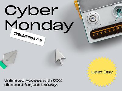 Cyber Monday Sale sale cybermonday blackfriday background site svg website illustration landing craftwork vector web