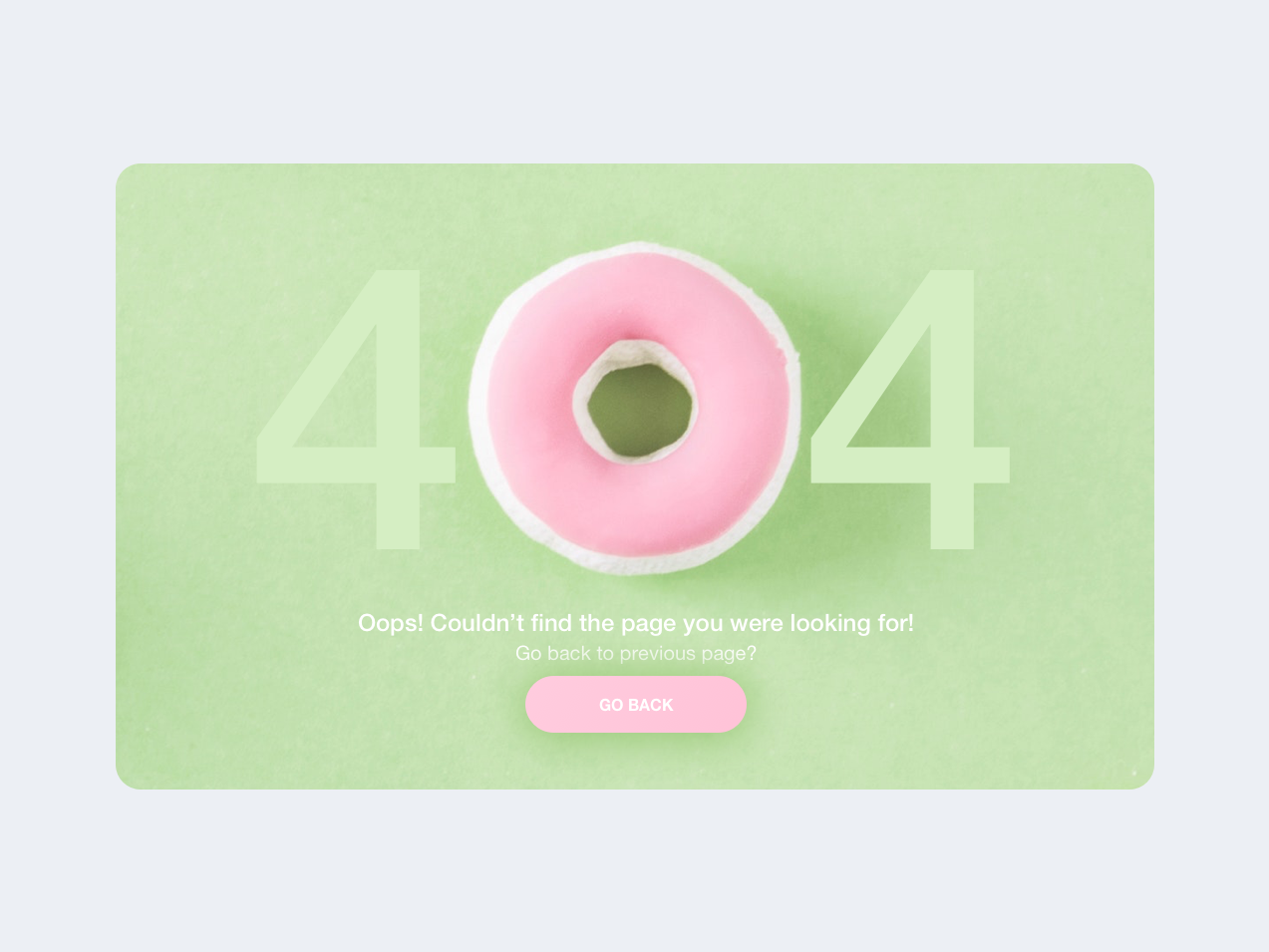 Page not found daily 100 challenge daily 100 green pink error 404 404 page