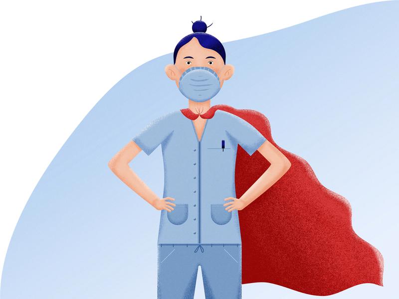 Nurses are everyday heroes