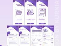 Finance bank mobile app