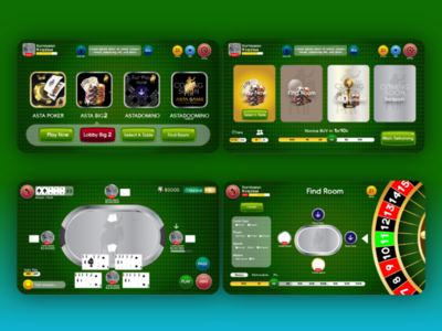 Game design for Poker app game web game ux design ui design user experience user interface game design