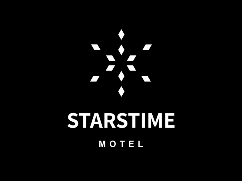 Ari Karnovski Portfolio Logo 065 expdn24 expressdesign24 star motel icon brand branding flat vector graphics design sign logo