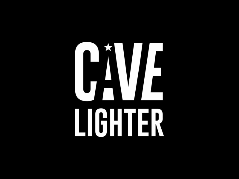 Ari Karnovski Portfolio Logo 074 colours style army military corporate icon branding flat vector graphics design sign logo negative-space lighting light star cavelighter cave