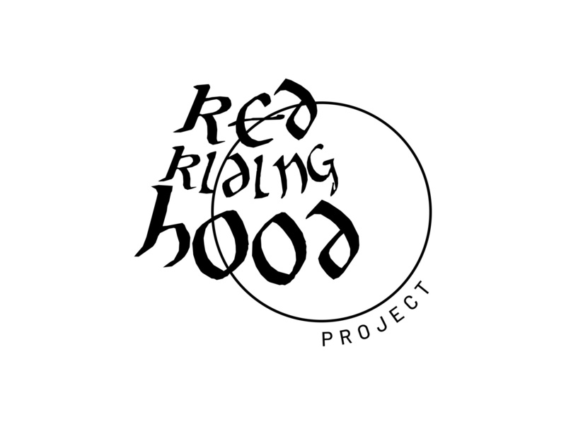 """Red Riding Hood"" Project (re-uploaded) redridinghood fairytale project logoart concept arikarnovski portfolio drawing icon branding flat vector graphics design sign logos"