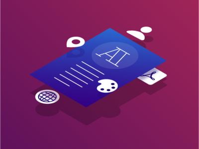Deep Customization publication customization isometric illustration ui deisgn