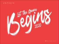 Let the game begins 2020