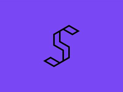 5S type icon branding logo typography design