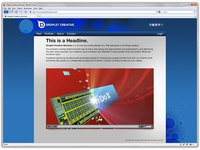 Droplet Creative Services Website