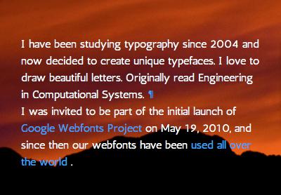 Antic Webfont typemade antic typography
