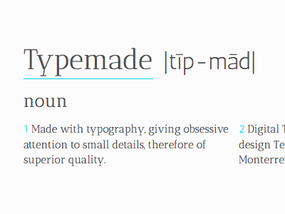 Typemade, March 16, 2012 —save the date— typemade typography