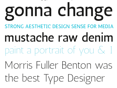 Antic Sans Specimen typemade antic typography