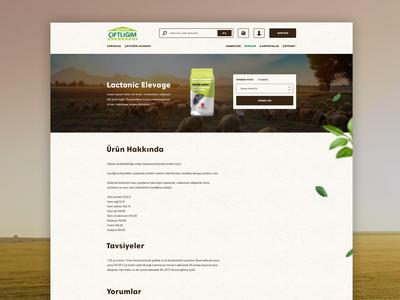 Ciftligim Corporate E-Commerce Web Site Product Details