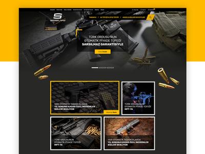 Sarsilmaz Weapons Industry E-Commerce
